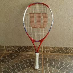 Raquete tenis Wilson US OPEN, sem uso!