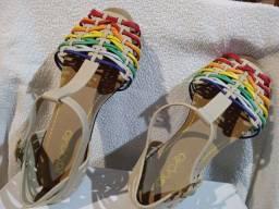 Sandália infantil feminina
