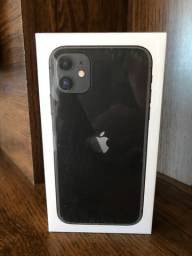 iPhone 11 128GB Preto - Novo na Caixa Lacrada / Possui Nota