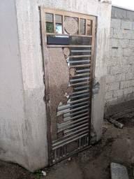 Portão de aço galvanizado