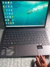 Notebook semi novo 4gb de RAM 128gb com  nota e garantia de 1 ano