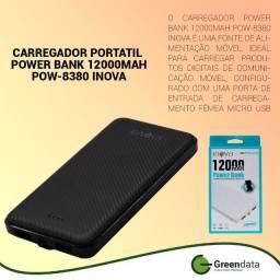 Carregador Portátil power bank 12000mah
