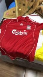 Camisetas de time originais, vendo para quem coleciona.