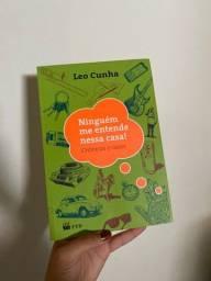 Livro: Ninguém me entende nessa casa - Leo Cunha