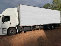 Caminhão vw 17250 constellation - 2007 com bau 10 metros