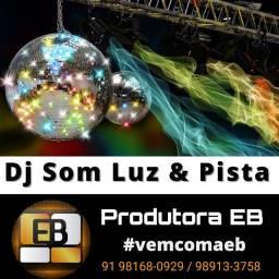 DJ Som Iluminação e Pista