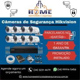 Câmeras de Segurança Hikvision Kit 8  *