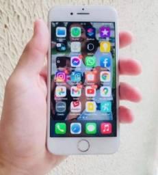 iPhone 7 prata + BRINDE
