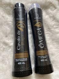Shampoo e condicionador omega 3