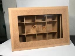 Caixa porta especiarias Gin