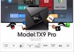 Tvbox TX9 Pro 3gb ram 32 interno reais