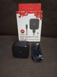 Carregador de Celular Motorola Turbo G7 Plus/Play/Power tipo C