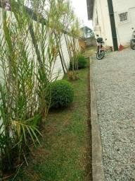 Jardinagem corte de roçada podas