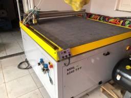 Máquina de corte de tapete