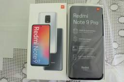Celular Xiaomi Redmi Note 9 pro 6GB Ram Tela 6.67 128GB Camera Quad 64+8+5+2MP - Cinza