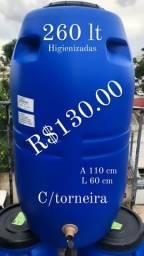 Loja tambores bombonas 258 litros
