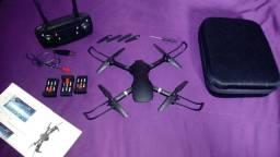 Drone S70 câmera 480p 3 baterias