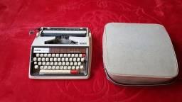 raridade vintage maquina datilografia brother made in Japan impecavel