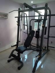 Estação de musculação com Rack Gonew PRO 5.0 Limited
