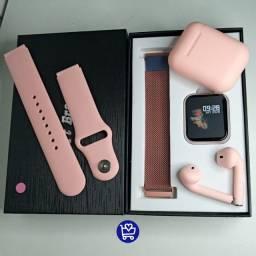 Kit-Smartwatch P70 + InPonds i12