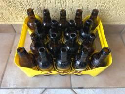 Vasilhame de cerveja de 300ml + caixinha