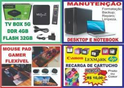 Manutenção de Notebook e Desktop
