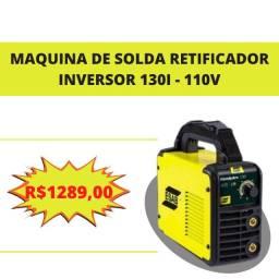 Maq. Solda Retificador Inversor 130i 110V