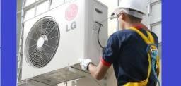 Conserto de ar condicionado (todas as marcas)