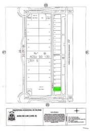 Título do anúncio: Terreno Localizado na AV. Teotônio Segurado à venda, 1860 m² por R$ 1.100.000 - Plano Dire