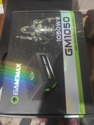 Fonte gamer gamemax GM1050 80 plus silver