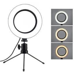 Ring Ligth de mesa led USB 6 polegadas para foto e vídeo
