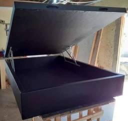 Base box baú casal entrega 24hs