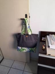 Lindas bolsas de tecido