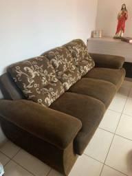 Vendo jogo de sofá 3 e 2 lugares