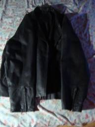 Jaqueta de Couro Preta Estilo Roqueiro - Vintage -  Vero Cuolo - Authentic Leather
