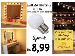 Título do anúncio: Lâmpada Bolinha LED para Camarim Penteadeira e Varal de luzes