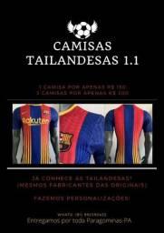 CAMISA TAILANDESAS 1.1