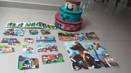 Vendo decoração Minecraft