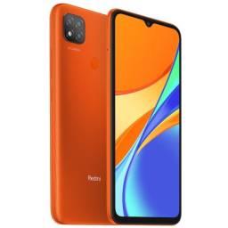 "Smartphone Xiaomi Redmi 9 Dual SIM 64GB de 6.53"" 13 + 2MP / 5MP OS 10 - Sporty Orange"