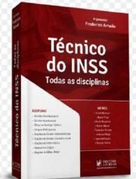 """Livro """"Técnico do INSS - Todas as disciplinas"""""""