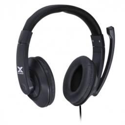 headset gamer v blade ii p2 estereo com mic retratil - preto
