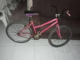 Vendo bike rosa