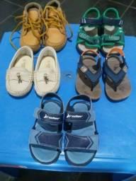 Lote calçados infantis n°20 / 21