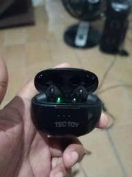 Fone earbuds bluetooth da Tectoy