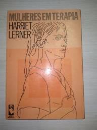 Livro psicologia. Mulheres em Terapia. Harriet Lerner