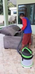 * higienização e lavagem a seco.