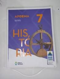 Livro História - Apoema - 7° ano - Editora Brasil
