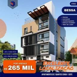 Título do anúncio: Apartamento para Venda em João Pessoa, Bessa, 2 dormitórios, 1 suíte, 2 banheiros, 1 vaga