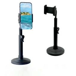 Suporte Tripé Celular Smartphone Mesa Portátil Selfie 360º<br>