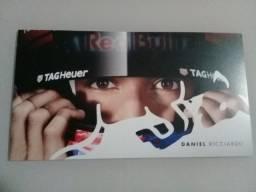 Autógrafo do piloto da Fórmula-1 Daniel Ricciardo